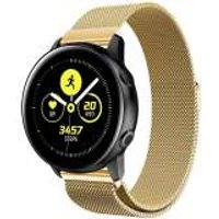 Just in Case Samsung Galaxy Watch Active Milanees armband - Goud