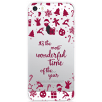iPhone 5/5S/SE Hoesje Most Wonderful Time
