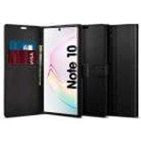 Samsung Galaxy Note 10 Hoesje Spigen Wallet S Zwart