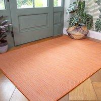 Terracotta Mottled Indoor   Outdoor Rug   Patio