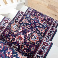 Blue Traditional Stair Carpet Runner - Cut to Measure| Scala