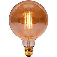 BELL 4W LED Filament 125mm Globe   ES Amber 2000K