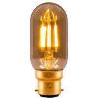 BELL 4W LED Filament Tubular   BC Amber 2000K