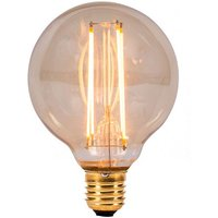 BELL 4W LED Filament 80mm Globe   ES Amber 2000K