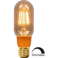 BELL 4W LED Filament Tubular Dimmable   ES Amber 2000K