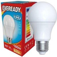 Eveready 14w LED GLS Opal E27 3000K   S13628