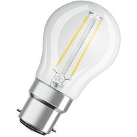 Osram 2w LED Filament GLS Clear BC 2700k