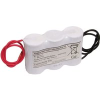 Yuasa 3DH4 0L3 Emergency Battery 3 Cell Side by Side c w Leads