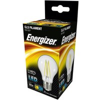 Energizer 6 2w E27 LED Clear Filament GLS 2700k   S12865