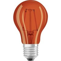 Osram 2w LED Red GLS ES