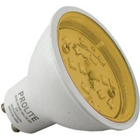 Prolite 7w LED GU10 Amber