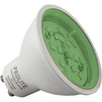 Prolite 7w LED GU10 Green