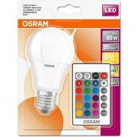 Osram 10w LED GLS E27 RGB With Remote