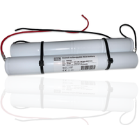 Bright Source Emergency Battery 8 Cell 4 4 loose stick 9 6v 4 0ah