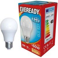 Eveready 9 6w LED GLS Opal E27 3000K   S13624