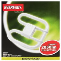 Eveready 28W 2D Low Energy 4 Pin GR10q   835