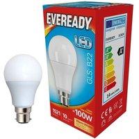 Eveready 14w LED GLS Opal BC 3000K   S13626