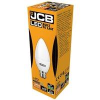 JCB 6w LED Candle Opal BC 4000K   S12502