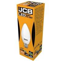 JCB 6w LED Candle Opal BC 6500K   S10979