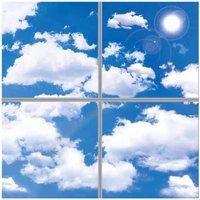 40w LED Panels   3D Sky Clouds