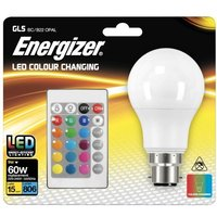 Energizer 9w LED GLS Bayonet Cap RGB With Remote