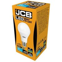 JCB 15w LED GLS Opal E27 6500K   S10996