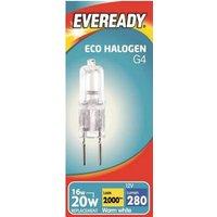 16w Eveready Eco Halogen G4   S10109
