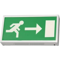 Bright Source LED Emergency Exit Box   Right Arrow