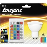 Energizer 4 5w LED GU10 RGB With Remote