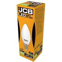 JCB 6w LED Candle Opal SES 6500K   S10982