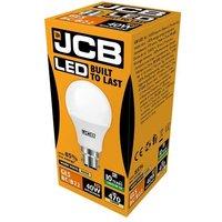 JCB 6w LED GLS Opal BC 3000K   S10987