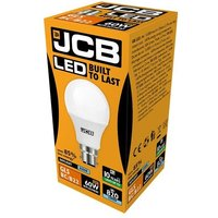JCB 10w LED GLS Opal BC 6500K   S10991