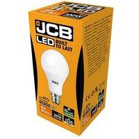 JCB 15w LED GLS Opal BC 3000K   S10995