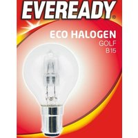 Eveready 20w Halogen Golf B15   S11919