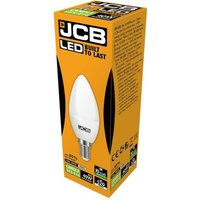 JCB 6w LED Candle Opal SES 4000K   S12503