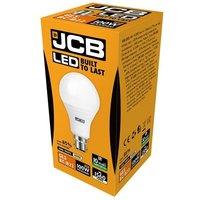 JCB 15w LED GLS Opal BC 4000K   S12507