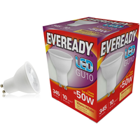 Eveready 5w LED GU10 3000K   S13600