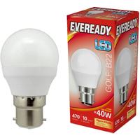 Eveready 6w LED Golf Ball Opal BC 3000K   S13602
