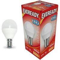 Eveready 6w LED Golf Ball Opal SBC 3000K   S13604