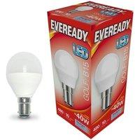 Eveready 6w LED Golf Ball Opal SBC 6500K   S13605