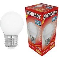 Eveready 6w LED Golf Ball Opal ES 3000K   S13606