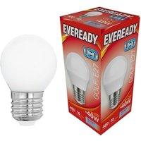 Eveready 6w LED Golf Ball Opal ES 6500K   S13607