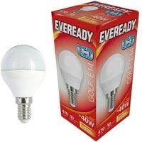 Eveready 6w LED Golf Ball Opal SES 3000K   S13608