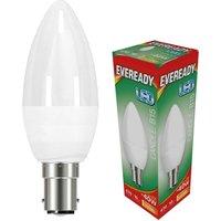 Eveready 6w LED Candle Opal SBC 3000K   S13612