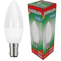 Eveready 6w LED Candle Opal SBC 6500K   S13613