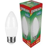 Eveready 6w LED Candle Opal ES 3000K   S13614