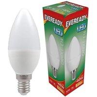 Eveready 6w LED Candle Opal SES 3000K   S13616