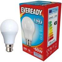 Eveready 9 6w LED GLS Opal BC 6500K   S13623