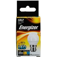 3 4w Energizer LED Golf 3000k B22   S8834