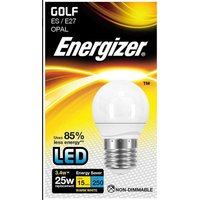 3 4w Energizer LED Golf 3000k E27   S8836